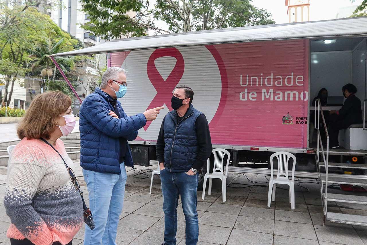 Carreta Mamografia