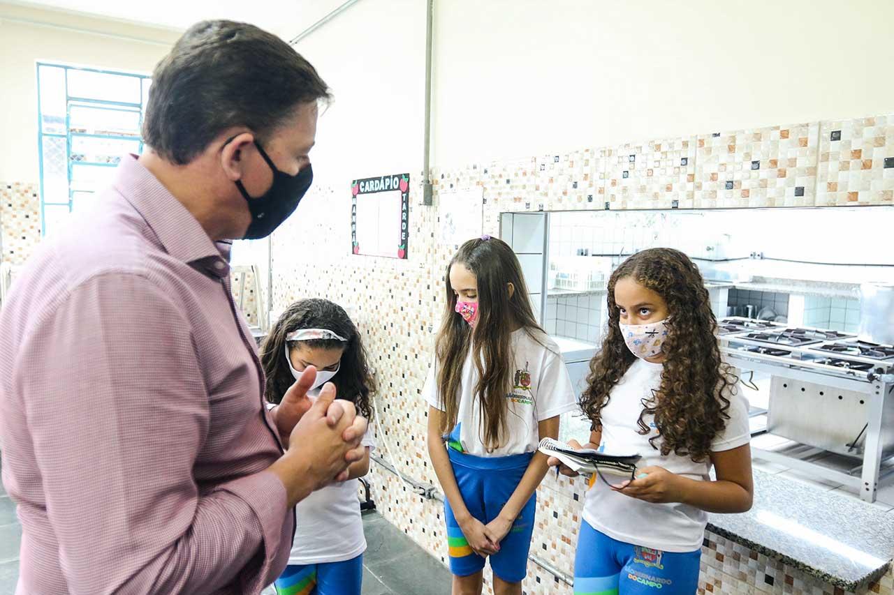 Prefeitura de São Bernardo mantém, desde 2017, o Programa Escola Linda