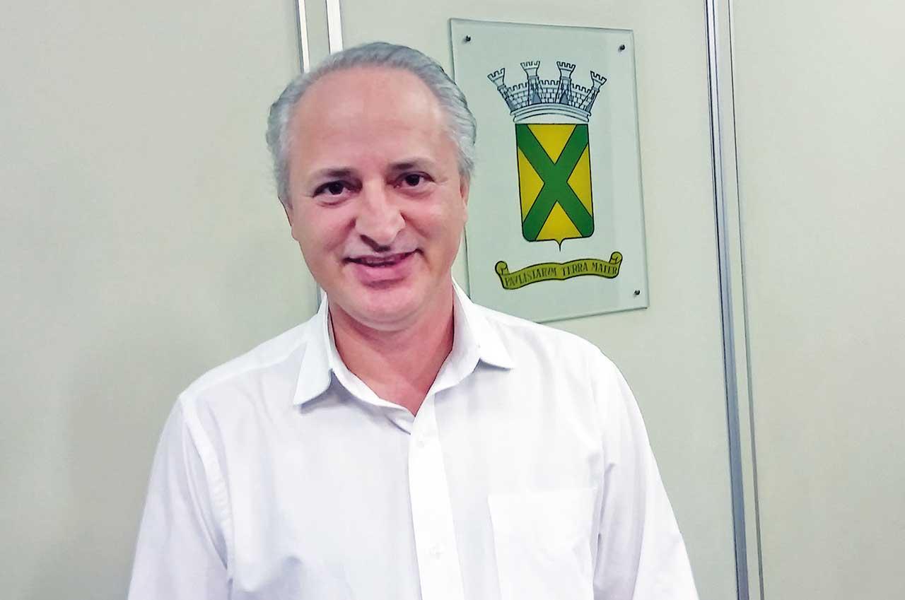 Almir Cicote, PSB, presidente da Câmara de Santo André