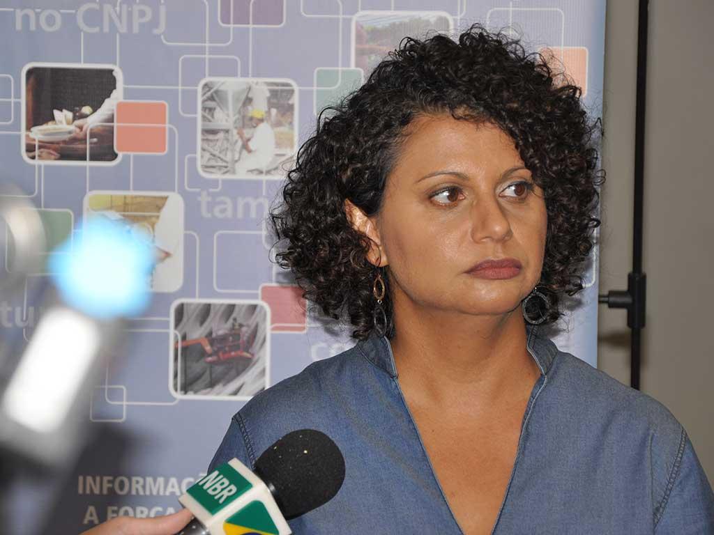 Adriana Beringuy, Analista do IBGE, durante coletiva da PNAD Contínua - Características Adicionais do Mercado de Trabalho 2012-2016