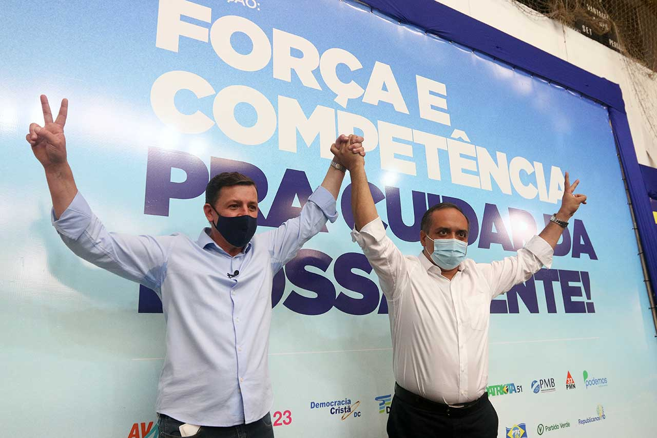 Candidatura à reeleição de Orlando Morando e Marcelo Lima é oficializada em São Bernardo