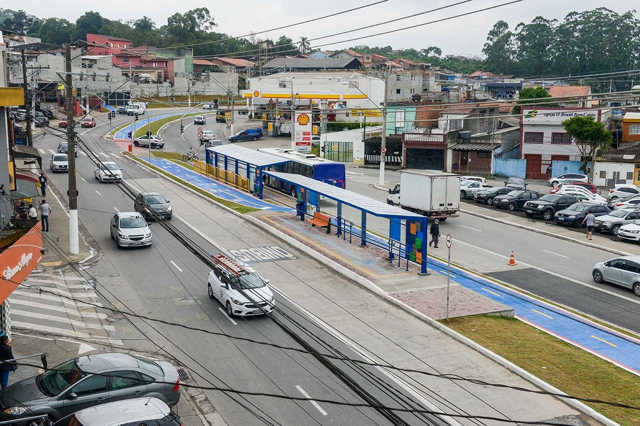 Estrada dos Alvarengas em São bernardo do Campo