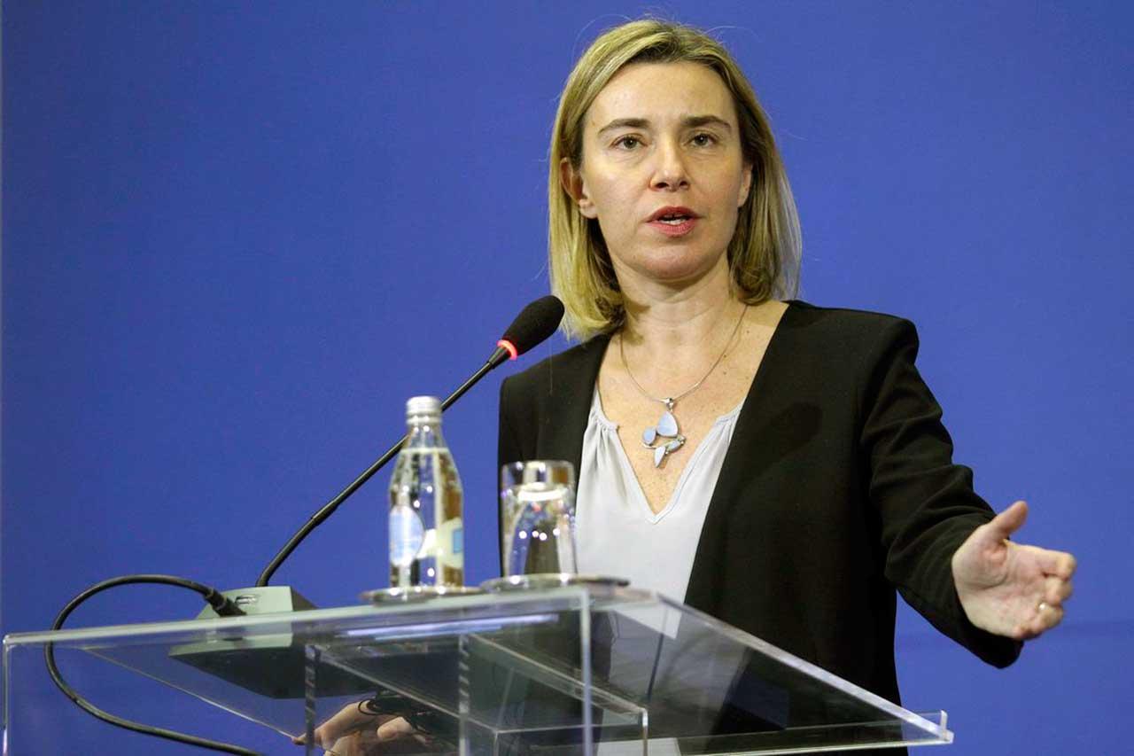 Alta representante da UE para os Negócios Estrangeiros e a Política de Segurança, Federica Mogherini