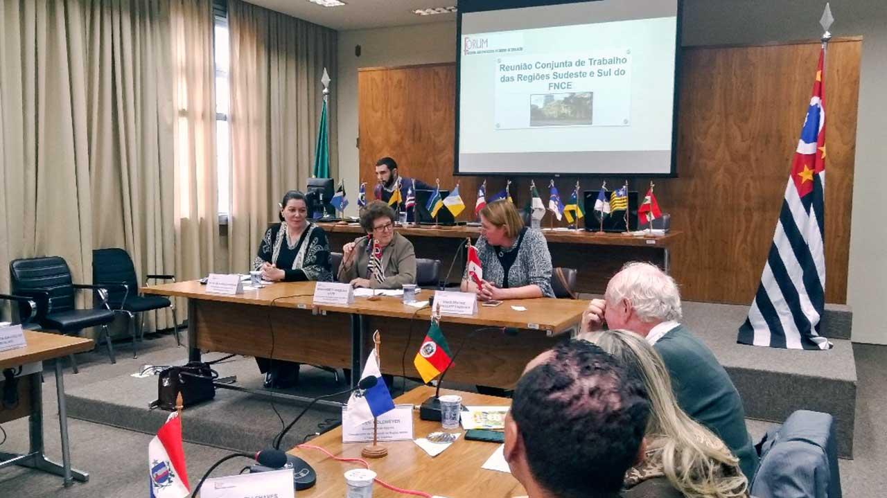 Prioridade desta gestão, o assunto foi tema abordado no Fórum Nacional dos Conselhos Estaduais de Educação