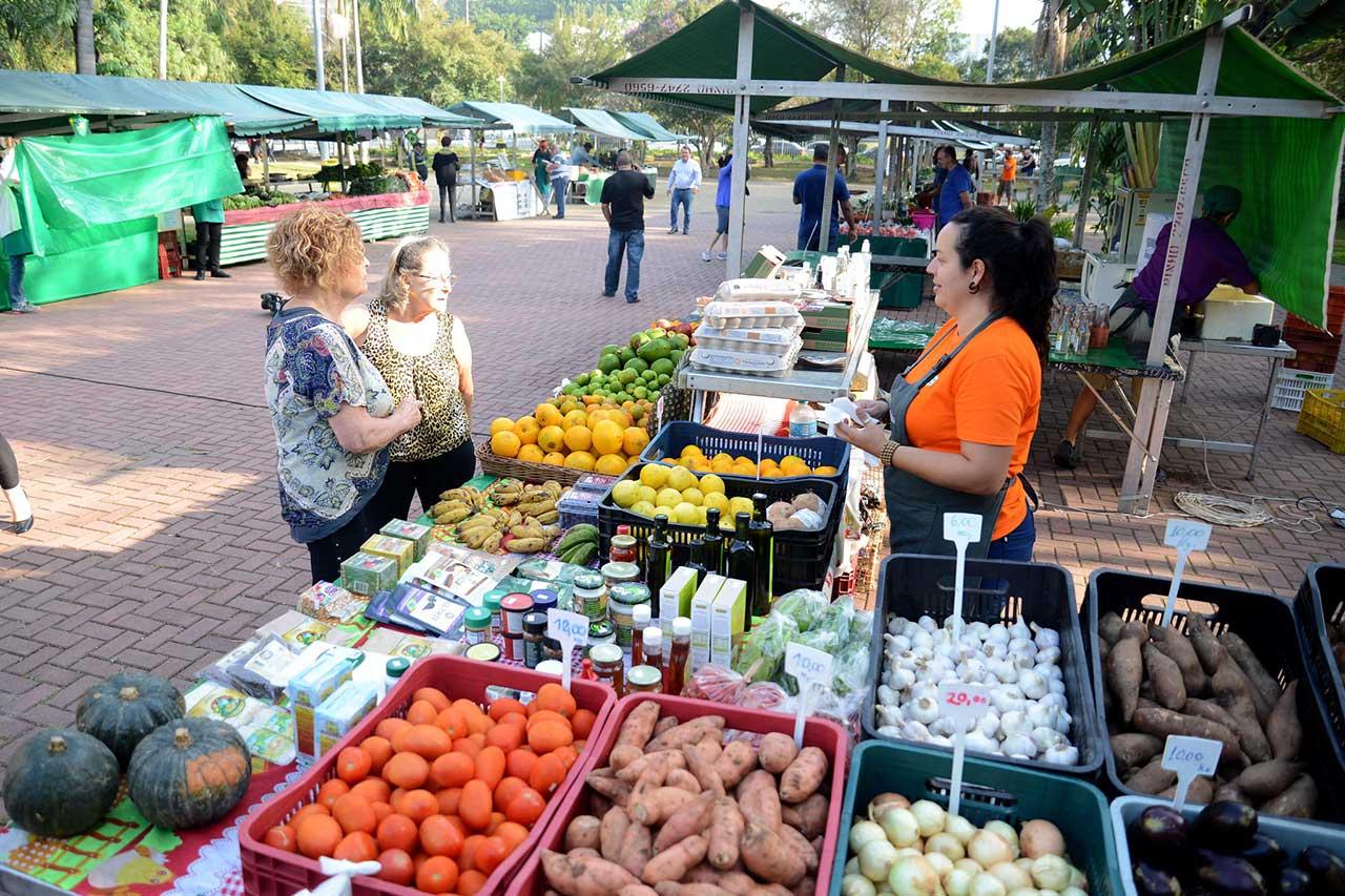 Feira acontece às quartas-feiras, das 8h às 13h; produtos comercializados são certificados pelo Ministério da Agricultura