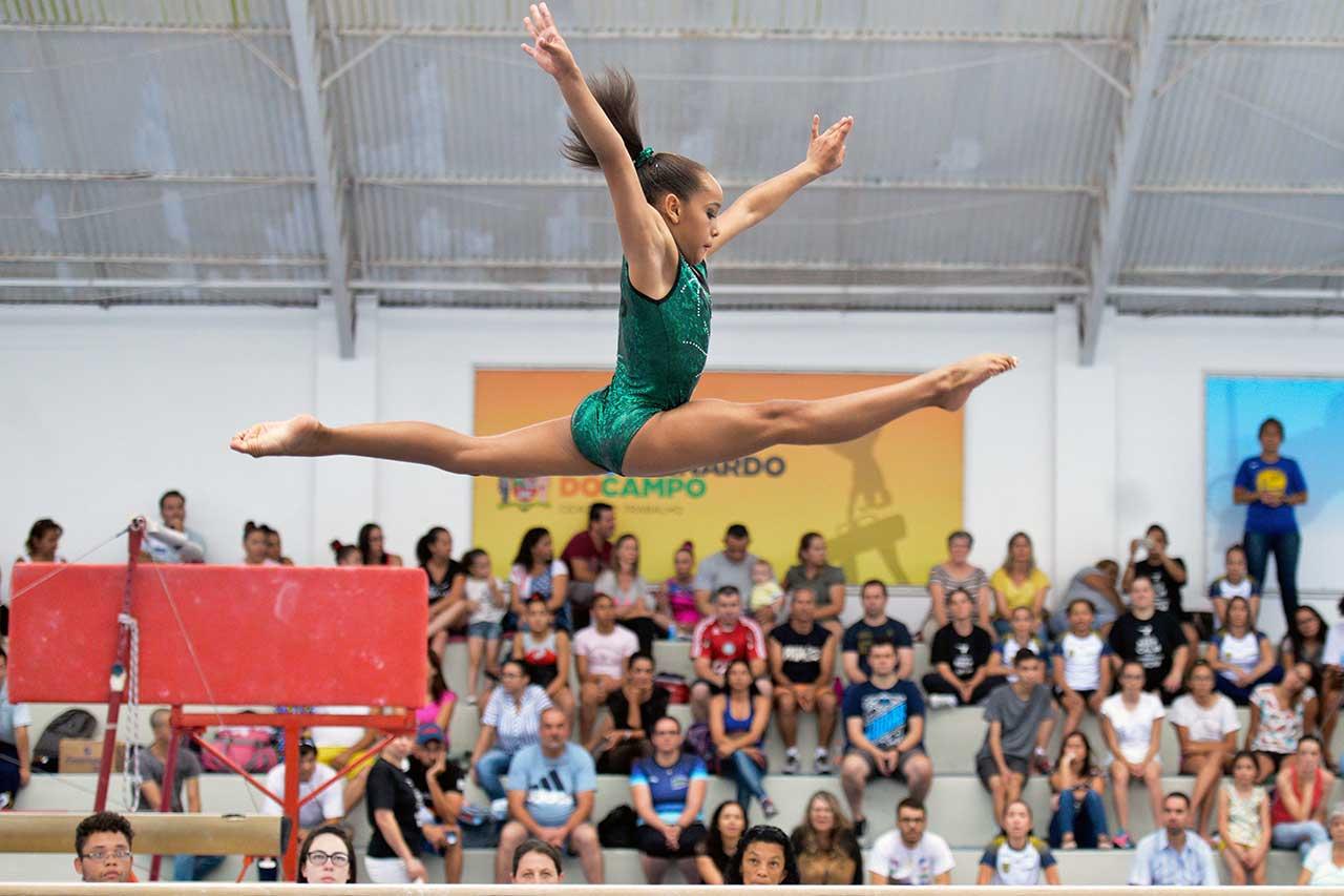 Presença confirmada de atletas da seleção brasileira de ginástica como Daniele Hypólito, Jade Barbosa e Flávia Saraiva