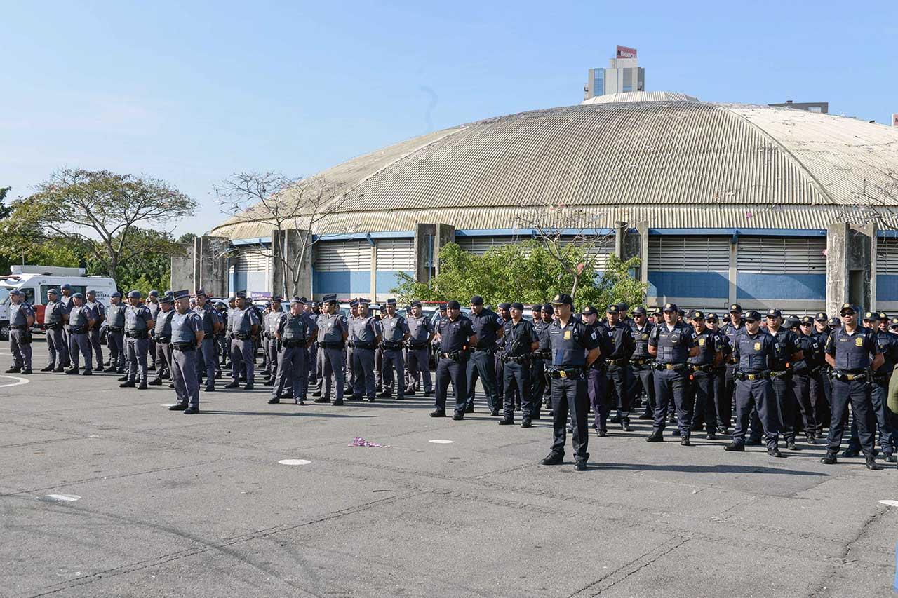 Cerca de 140 oficiais participaram da ação, que teve como foco principal o combate ao roubo e furto de veículos