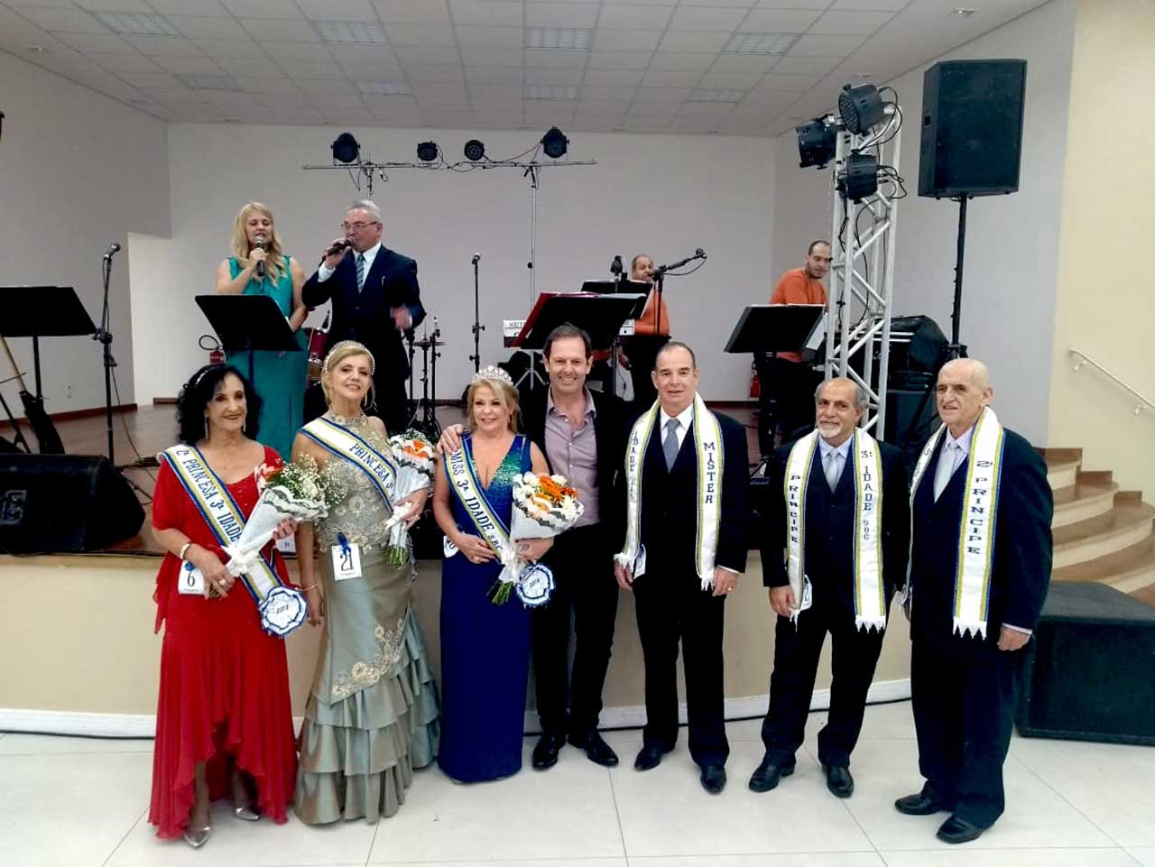 Vencedores vão representar a cidade no Concurso Miss e Mister Terceira Idade do Estado de São Paulo