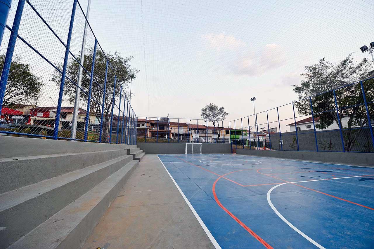 Inaugurada pelo prefeito Orlando Morando, Praça Zumbi dos Palmares é a 12ª da ação a ser entregue na cidade