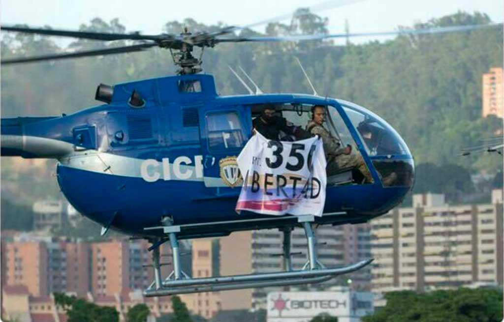 Helicóptero ataca a Suprema Corte Venezuelana