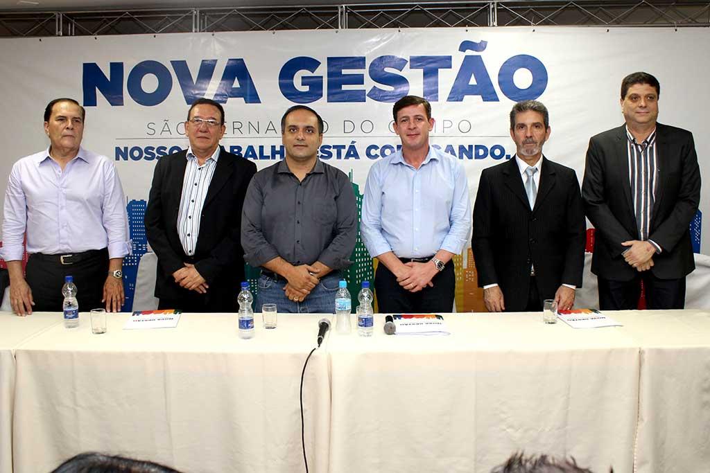 Samuel Gomes Pinto, Luis Pires de Paula, Marcelo Lima, Orlando Morando, Luiz Carlos Gonçalves da Silva, Marcos Galante Vial (Arouca)