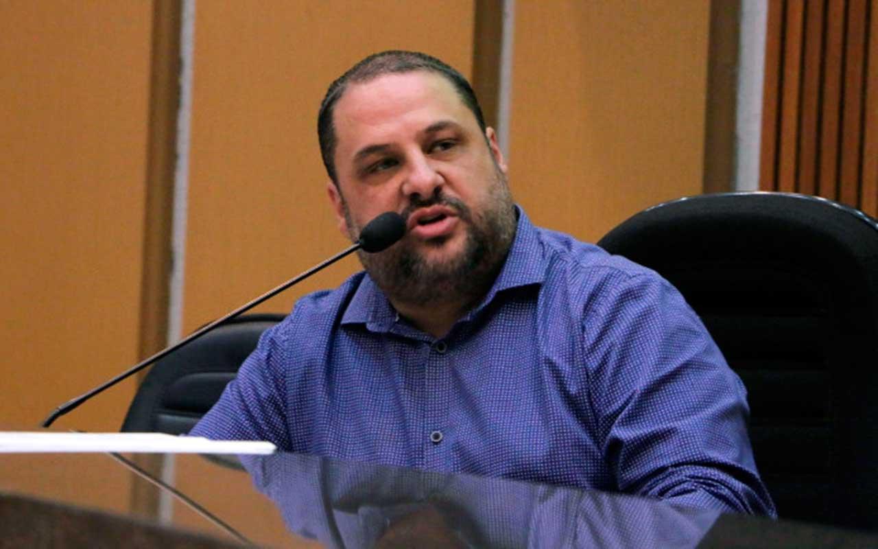 Presidente da Câmara-de São Bernardo Ramon Ramos