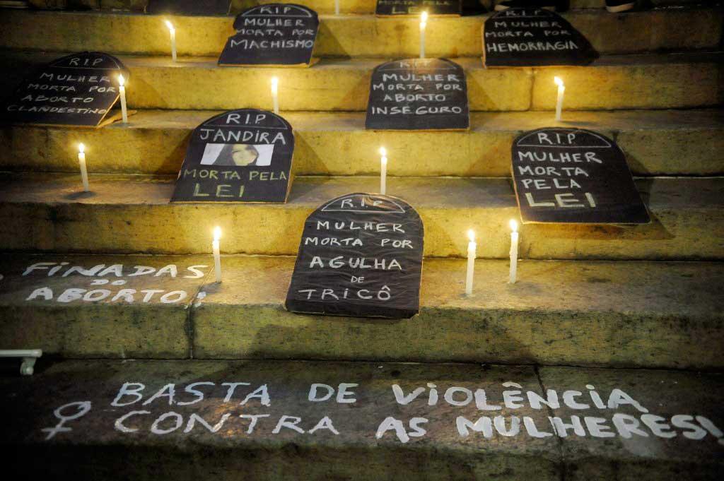Em todo o Brasil, uma em cada três mulheres sofreu algum tipo de violência no último ano