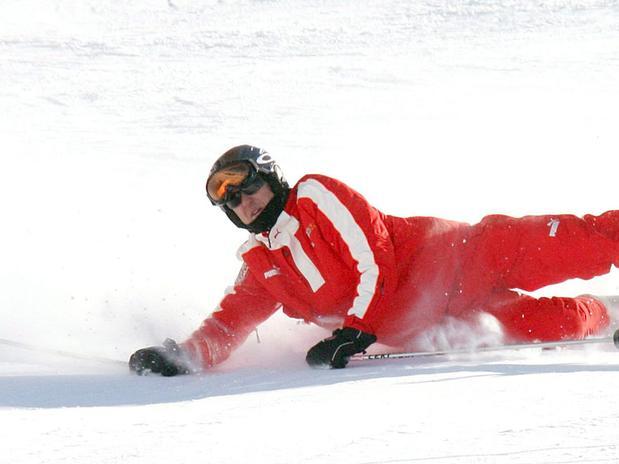 Schumacher sofreu acidente de esqui no último domingo