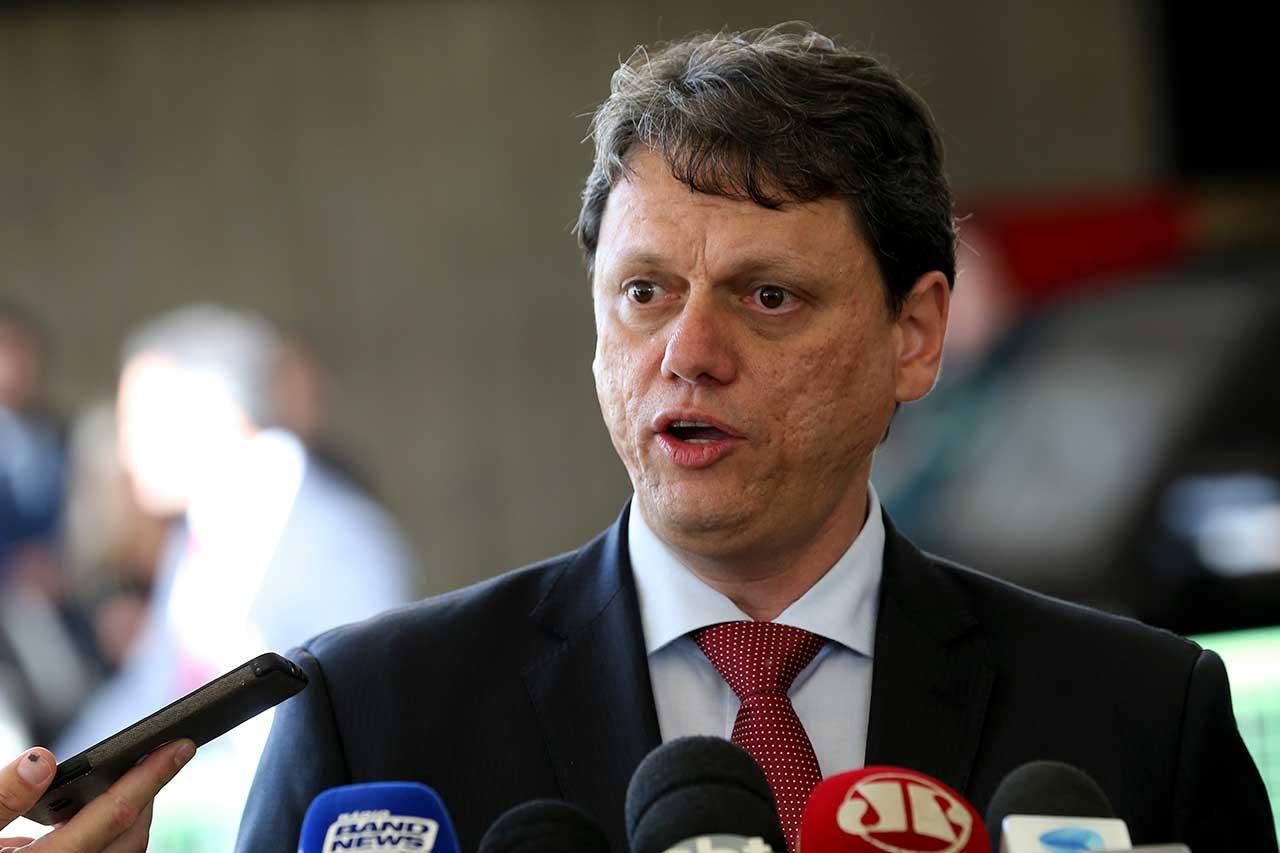 Tarcísio Gomes de Freitas indicado para o Ministério da Infraestrutura