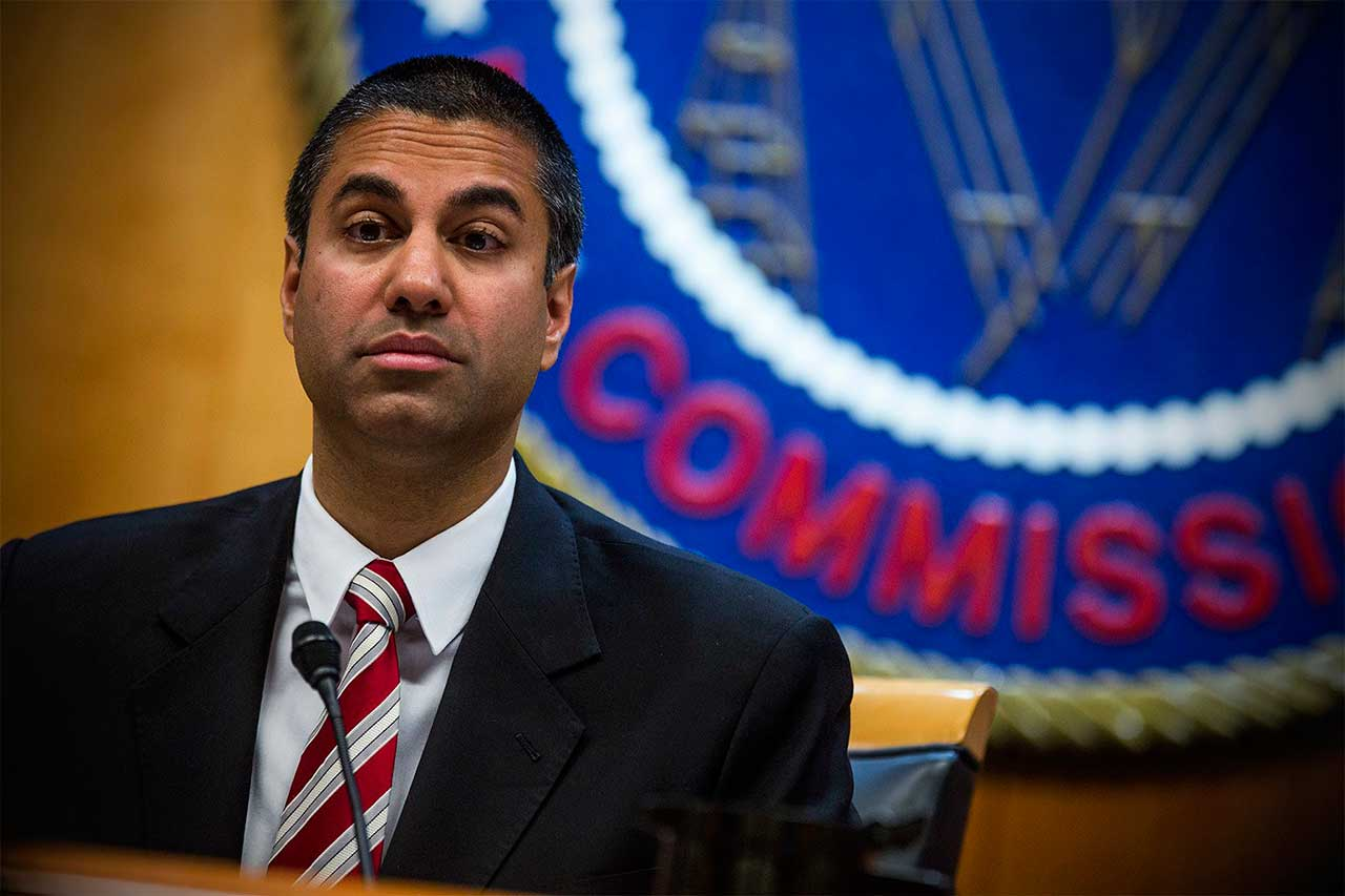 Decisão da FCC (Federal Communications Commission - Ajit Pai, presidente) segue diretriz do presidente Donald Trump. Regulação sobre neutralidade de rede foi aprovada em 2015, no governo Barack Obama