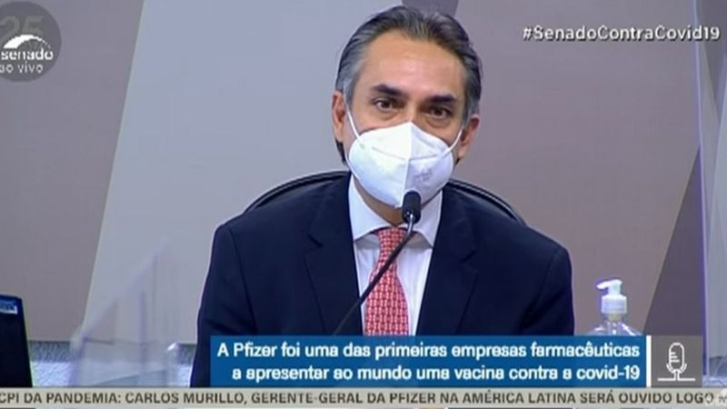 CPI da Covid: executivo da Pfizer confirma que governo Bolsonaro ignorou ofertas de 70 milhões de doses de vacinas