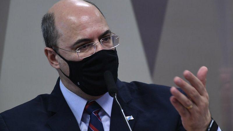 Witzel foi eleito em 2018 fazendo campanha para Bolsonaro, mas se desentendeu com o presidente após assumir