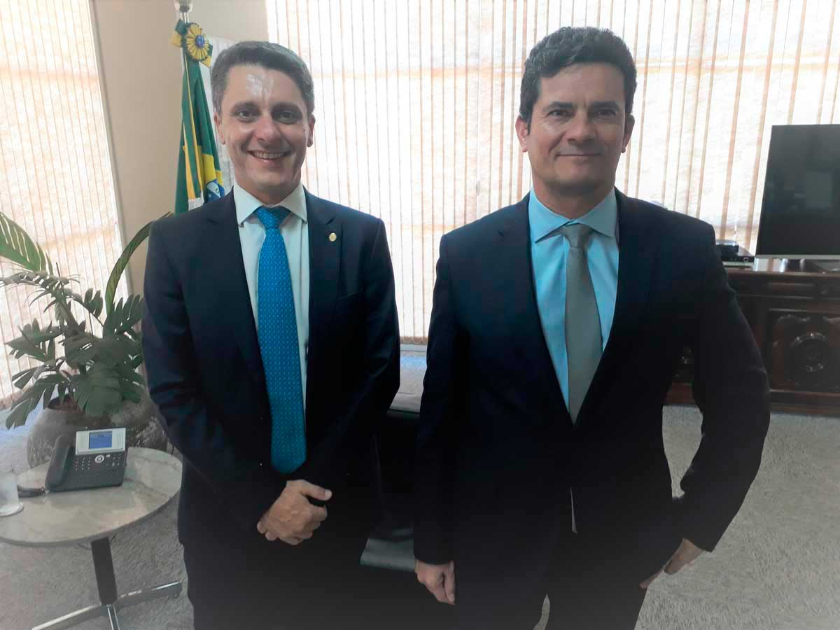 Alex Manente e Sérgio Moro