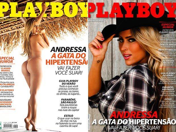 Andressa Ribeiro estampa a edição de janeiro da publicação