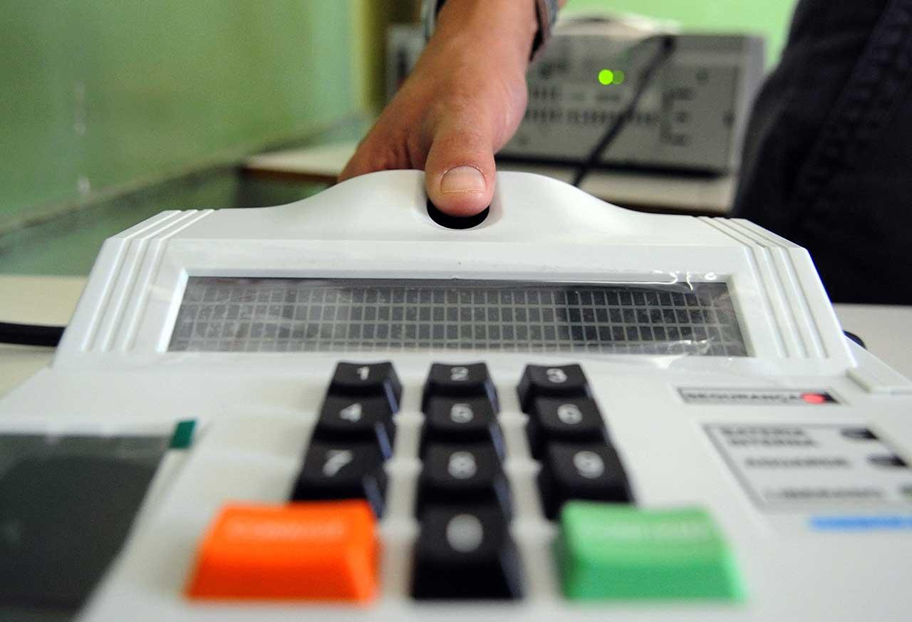 Biometria nas urnas eleitorai