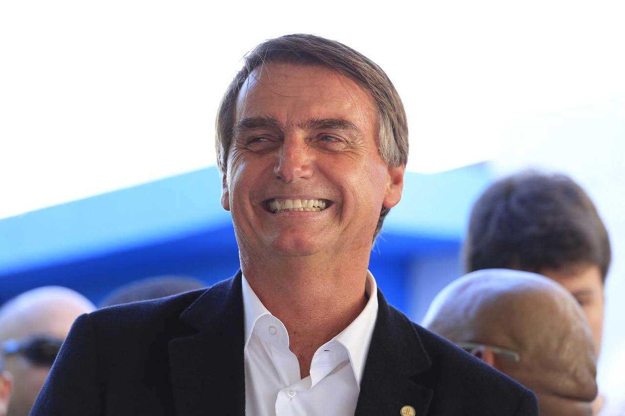 Deputado Jair Bolsonaro, agora pré-candidato a presidente pelo PSL