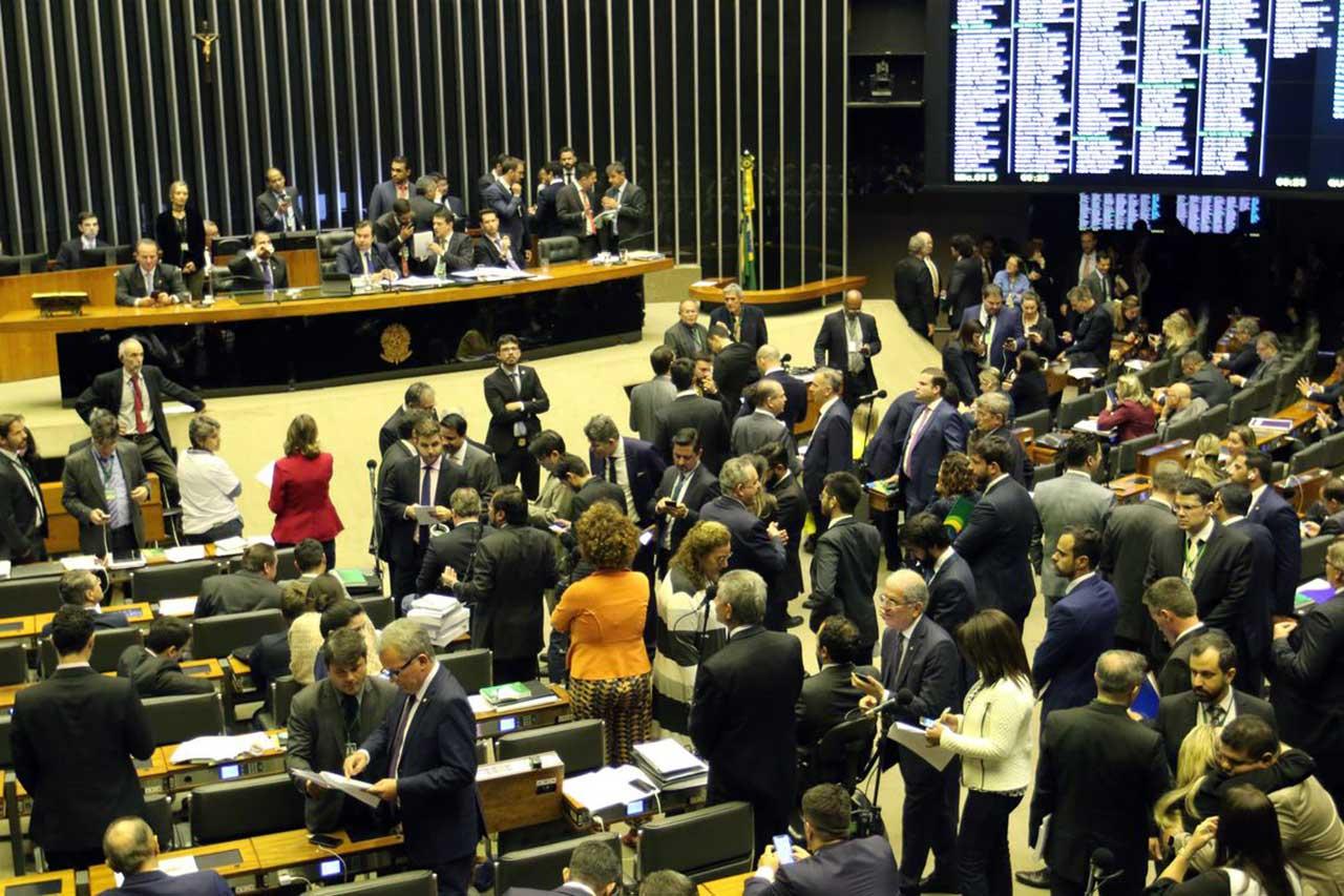 Câmara Federal em plenária de 11 de julho de 2019