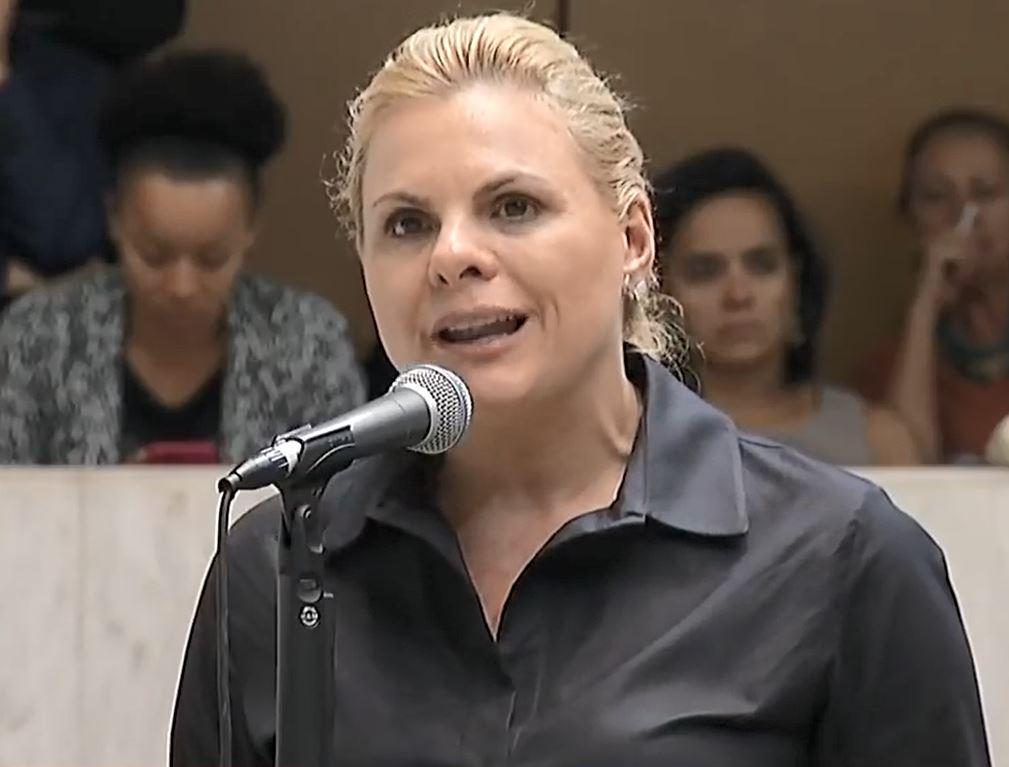 Deputada Carla Morando diz para o petista Luiz Fernando lavar a boca para falar seu nome e de seu marido