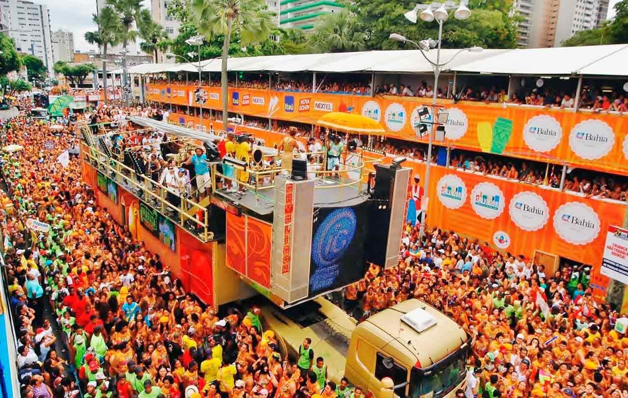 Salvador deve receber cerca de 770 mil turistas no carnaval
