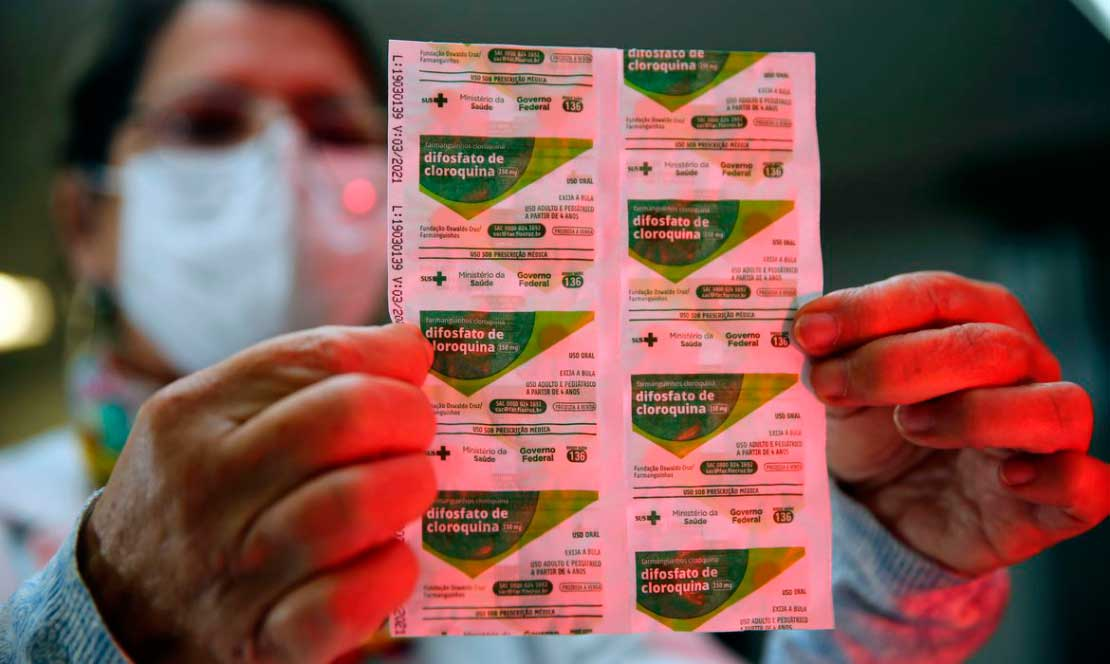 SBI cita ainda diretrizes da Sociedade de Infectologia dos Estados Unidos contra o uso da cloroquina e hidroxicloroquina, defendidas por Bolsonaro