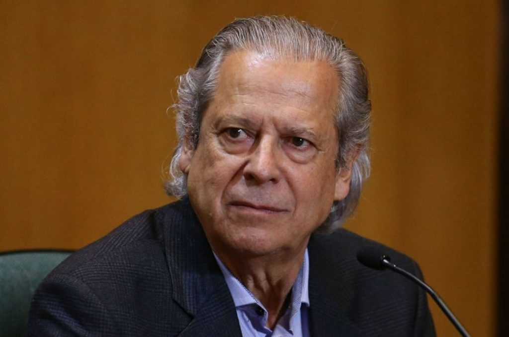 Ex-ministro de Lula, José Dirceu