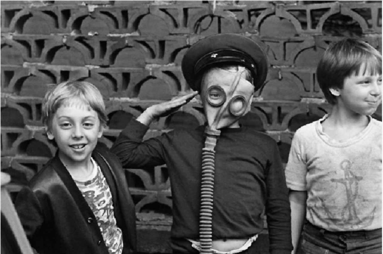 A exposição A União Soviética através da Câmera apresenta imagens em preto e branco de seis fotógrafos sobre o período pós-stalinista