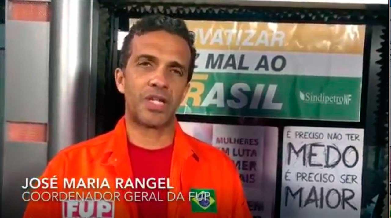 José Maria Rangel, Coordenador Geral da FUP