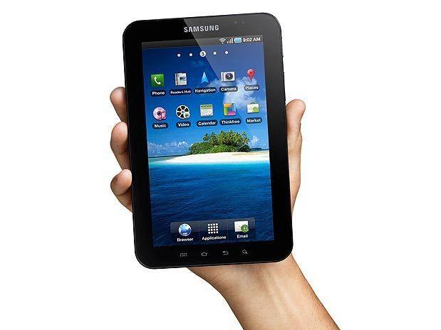 Galaxy Tab, tablet de sete polegadas da sul-coreana, pode receber atualização do Android, segundo jornal do país