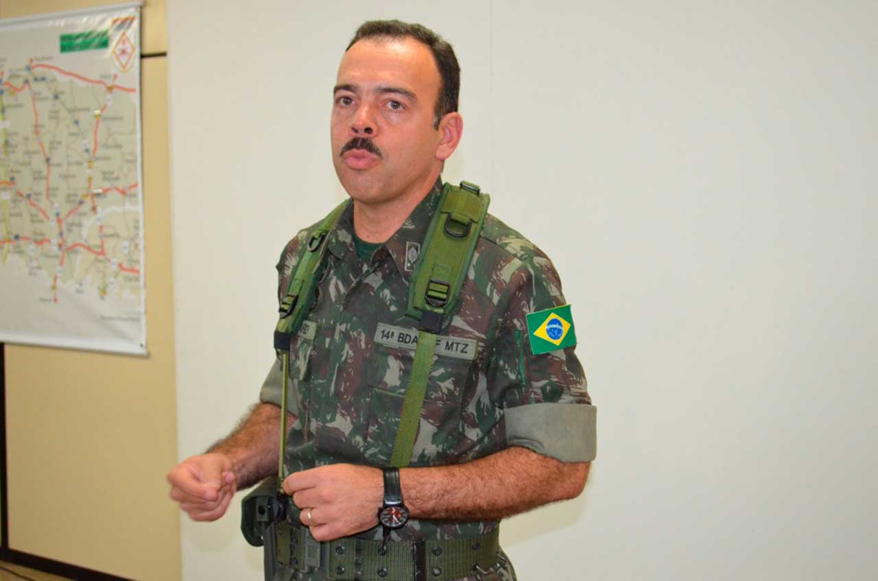 General da ativa Richard Fernandez Nunes