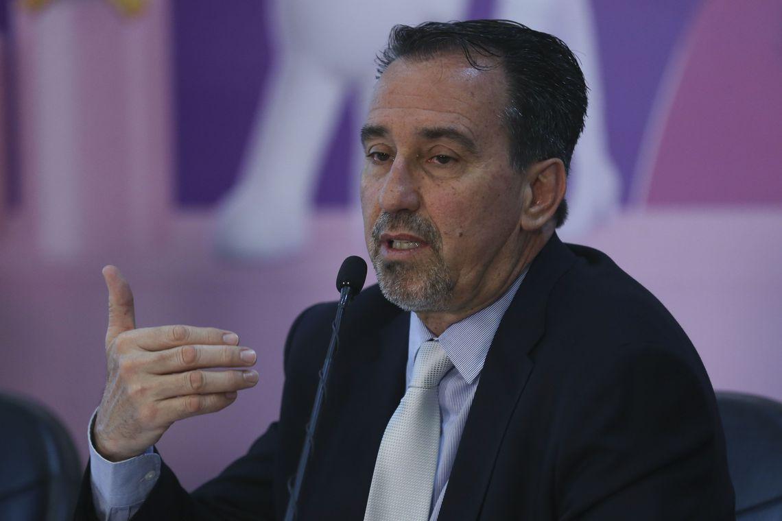 Ministro da Saúde, Gilberto Occhi