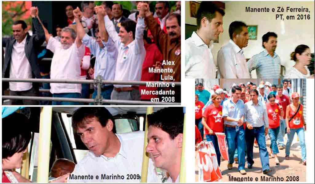 PT e Alex Manente