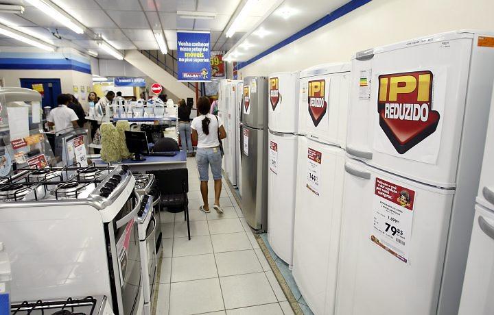 Originalmente, o IPI da linha branca correspondia a 4% para os fogões, 10% para os tanquinhos, 15% para as geladeiras e 20% para as máquinas de lavar