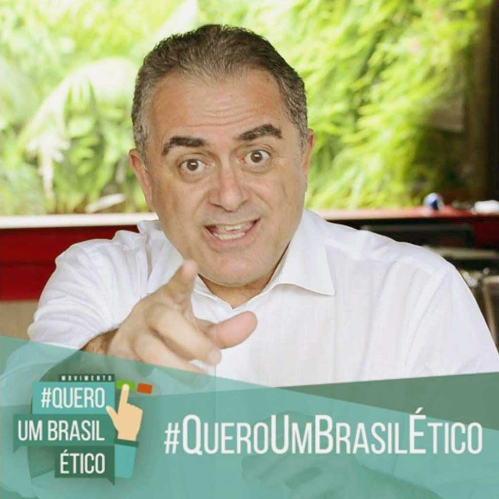 LUIZ FLÁVIO GOMES, jurista. Criador do movimento Quero Um Brasil Ético