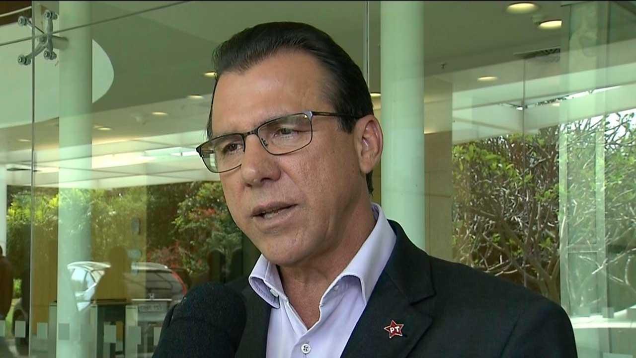 Ex-prefeito Luiz Marinho, PT