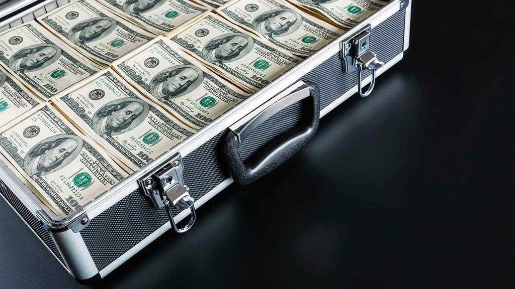 Repatriação de milhões de dólares