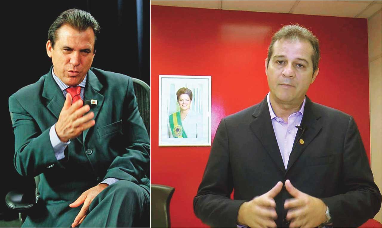 Luiz Marinho e Luiz Fernando, ambos do PT
