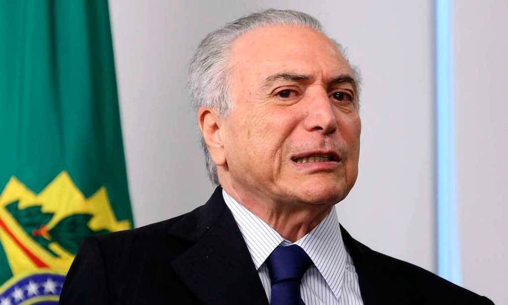 Presidente Michel Temer, PMDB