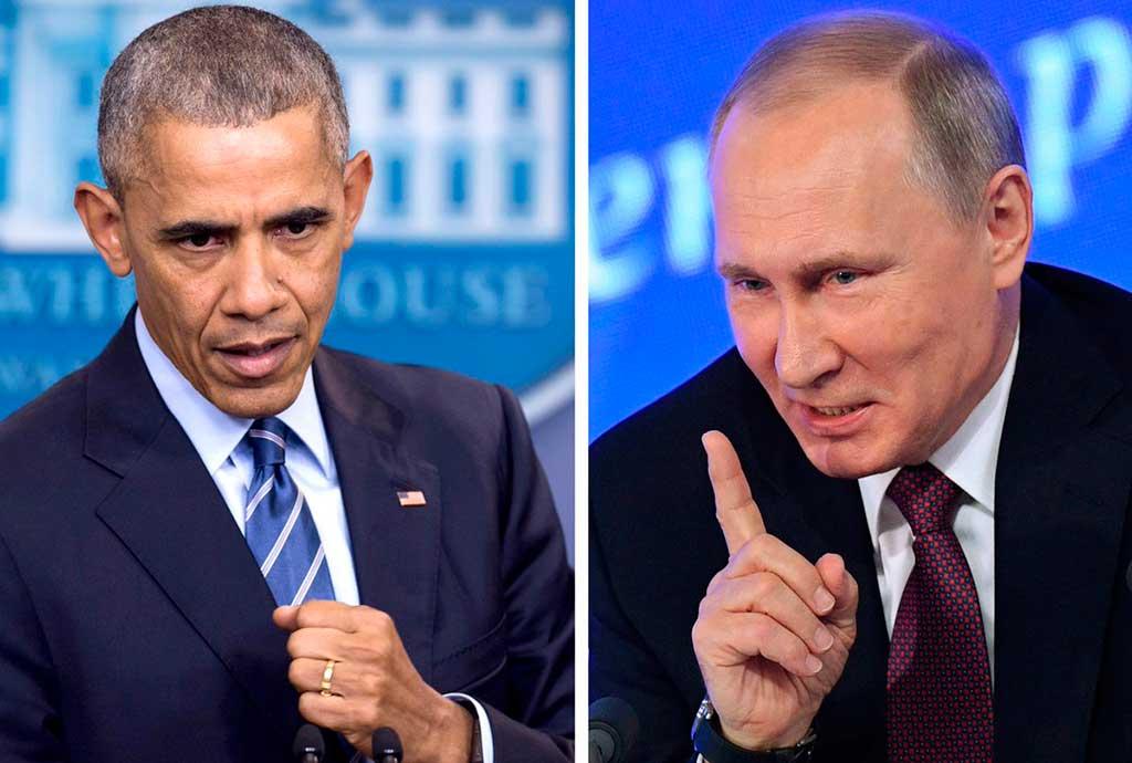 Obama golpeia a Rússia com novas sanções, expulsa diplomatas da embaixada em resposta à suposta interferência nas eleições americanas