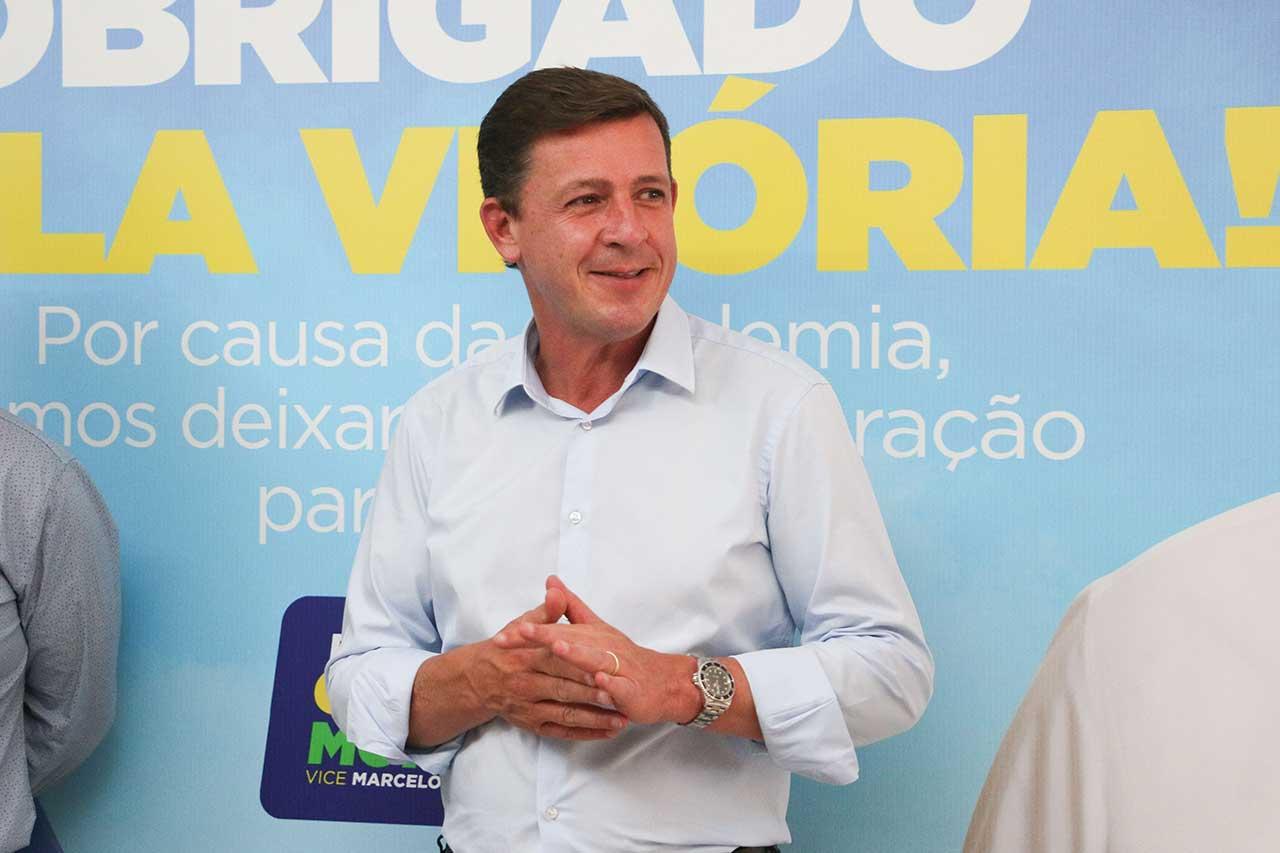 Orlando Morando - Coletiva da reeleição