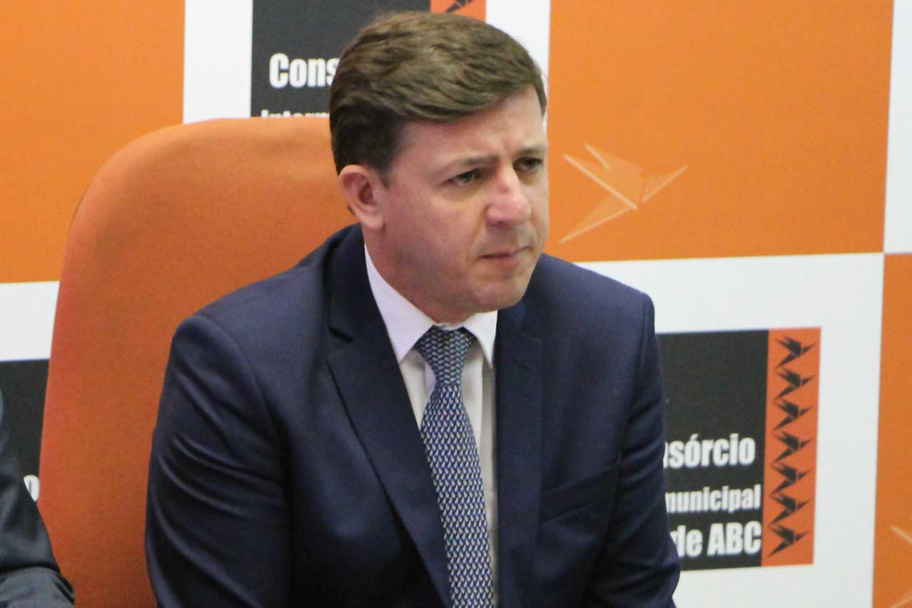 Orlando Morando, prefeito de São Bernardo e presidente do Consórcio Intermunicipal Grande ABC