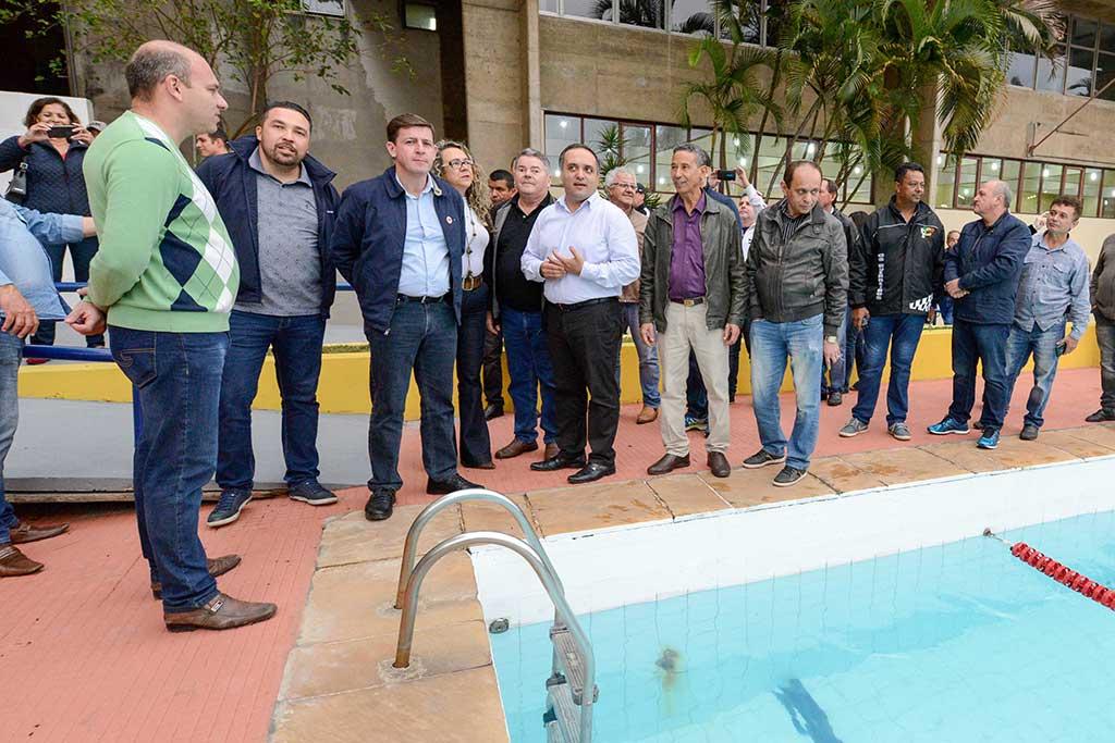 As novas instalações foram apresentadas pelo prefeito Orlando Morando