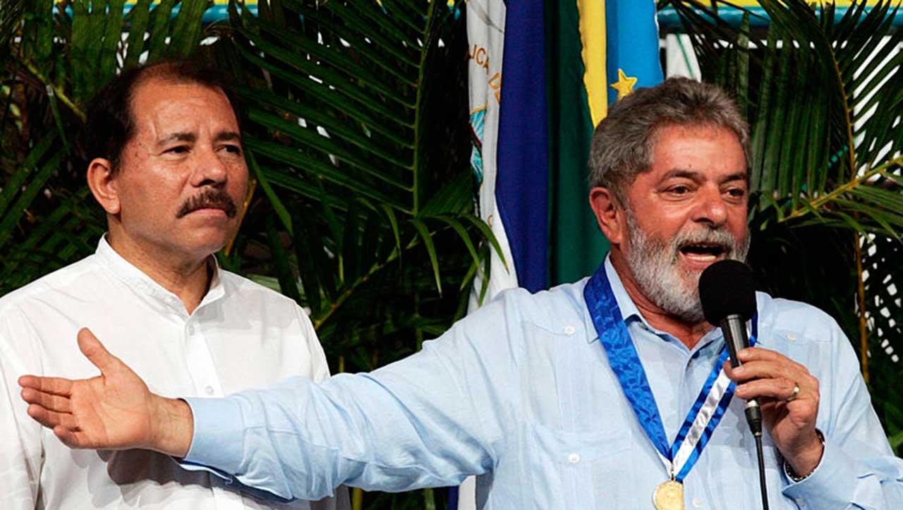 Daniel Ortega e Lula