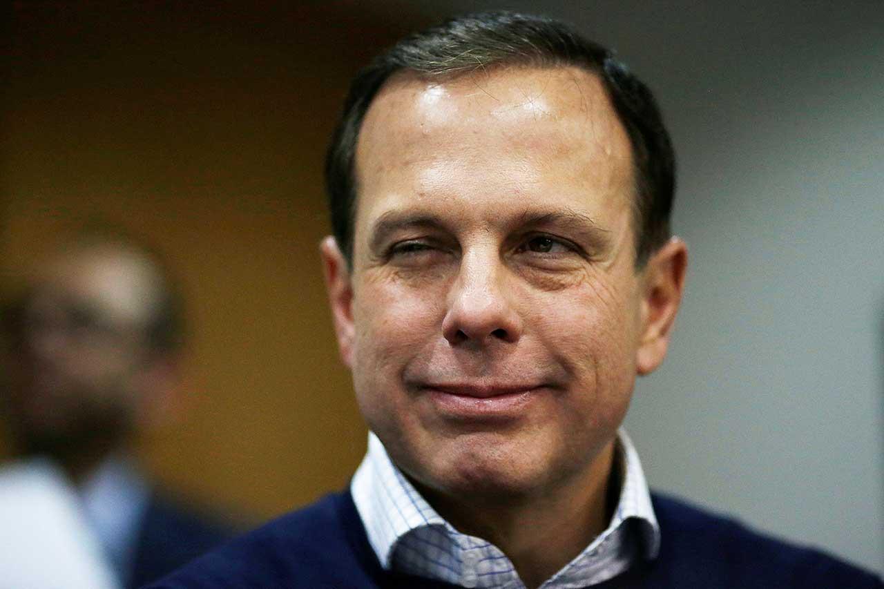 JJoão Doria, prefeito da cidade de São Paulo, possui grande vantagem sobre os concorrentes nas prévias do PSDB