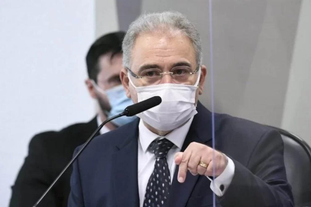 Ministro Marcelo Queiroga na CPI em 08/06/2021